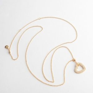 New-Michael Kors Open Heart Mother's Day Necklace